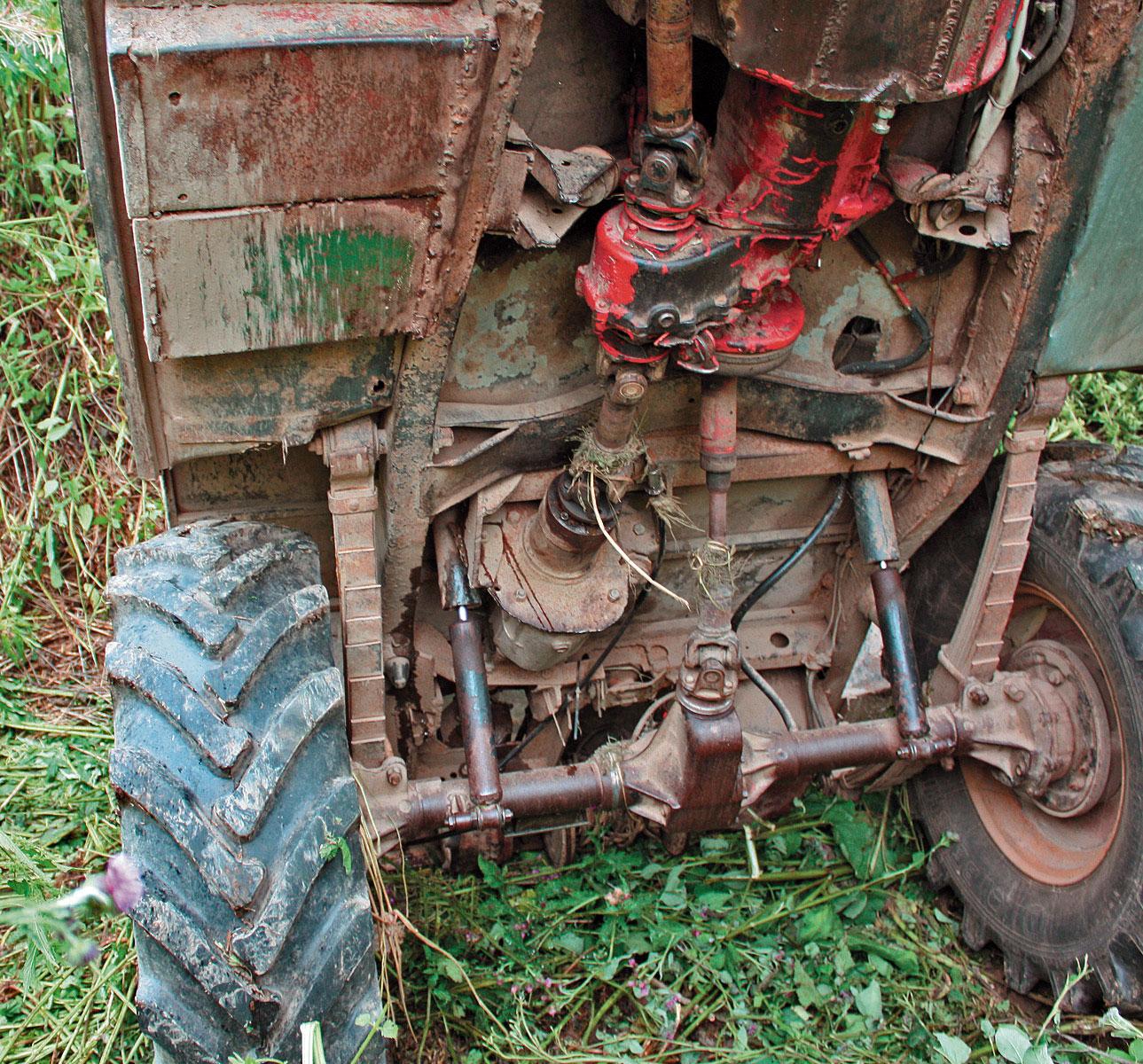 Как сделать трактор. - m 5