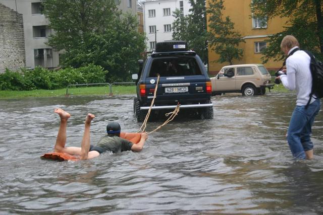 images insolites Waterfun